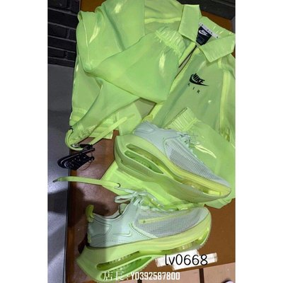 正品全新新款 Nike Zoom Double Stacked Barely Volt CI0804-700 螢光 兩層氣墊休閒運動鞋