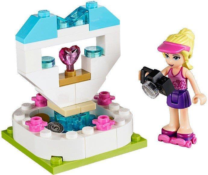現貨【LEGO 樂高】全新正品 益智玩具 積木/ Friends 好朋友系列: 人偶+許願池 30204 袋裝