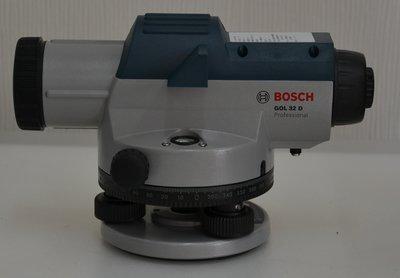【宏盛測量儀器】德國BOSCH GOL32D水準儀/水平儀 ~ 附腳架箱尺 校正過才出貨
