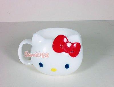《東京家族》日本製 Kitty 漱口杯/塑膠杯/喝水杯300ml