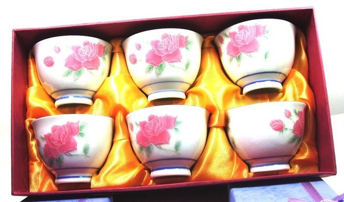 ☆八海精品☆【泡茶杯 1組6個】