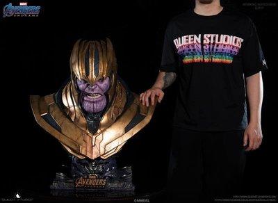 《瘋樂模玩》預購19年第四季Queen Studio Life-size Thanos Bust 薩諾斯 胸像(含國際運費)訂金30000尾款44600值得珍藏
