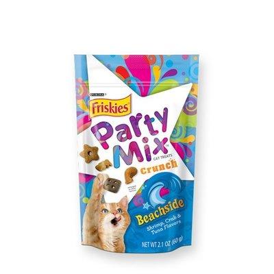 SNOW的家【訂購】Friskies 喜躍 Party Mix 貓咪香酥餅-海洋鮮味60g(14060014
