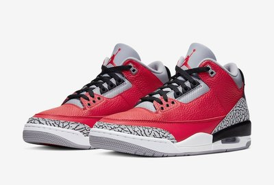 GOSPEL【Air Jordan 3 Retro SE Unite Fire Red 】爆裂紅 男段 籃球鞋