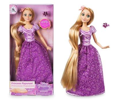 【美國大街】正品.美國迪士尼魔髮奇緣長髮公主樂佩芭比娃娃 Disney Rapunzel 11.5吋 / 29cm