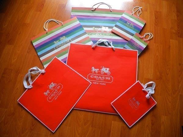 ~☆.•°莎莎~*~☆~~COACH 專櫃紙盒紙袋~