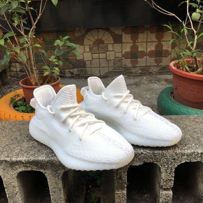 玉米潮流本舖 Adidas Yeezy Boost 350 V2 CP9366 全白 肯爺 保麗龍大底 編織 慢跑鞋