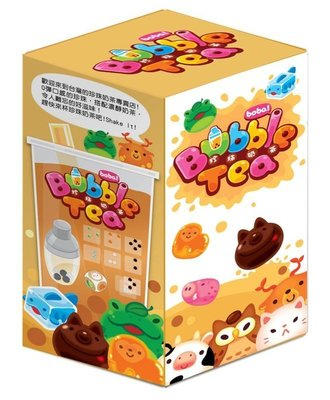 大安殿實體店面 免運 珍珠奶茶 Bubble Tea 繁體中文正版益智桌上遊戲