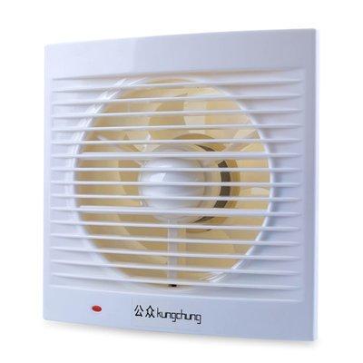 排氣扇6寸圓形廁所抽風機家用排風扇廚房衛生間浴室窗式通風換氣電子批發五金