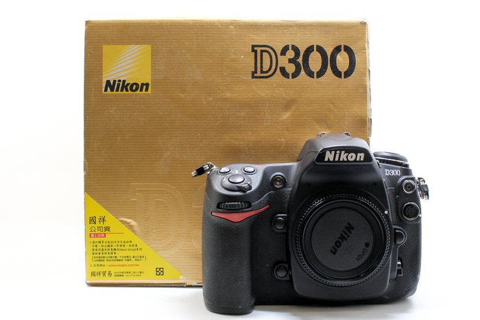 【高雄青蘋果競標】Nikon D300 單機身 二手相機 故障商品 單眼相機#15211