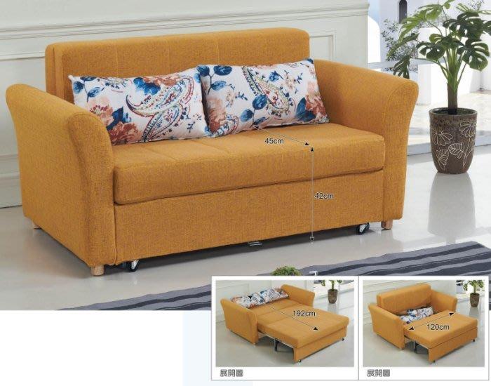 【DH】商品貨號BC163-1商品名稱《拉寇》多功能沙發床(圖一)座/臥兩用多功能使用.可掀開置物.主要地區免運費