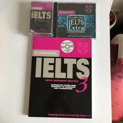 [二手書籍] 劍橋 IELTS 模考 3 含2光碟 CD 英文 檢定 考試 加送錄音帶及CD *舊愛二手*