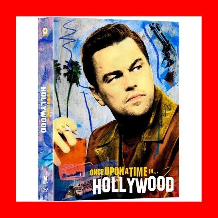 【BD藍光】從前有個好萊塢:全紙盒限量鐵盒版(中文字幕)史密斯任務 星際救援 鐵達尼號 主角