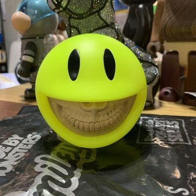 Ron English Made by Monsters smiley grin 笑臉 現貨