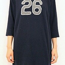 日本質感品牌 FIL DE FER boyish 刺繡 數字 長袖毛衣 洋裝
