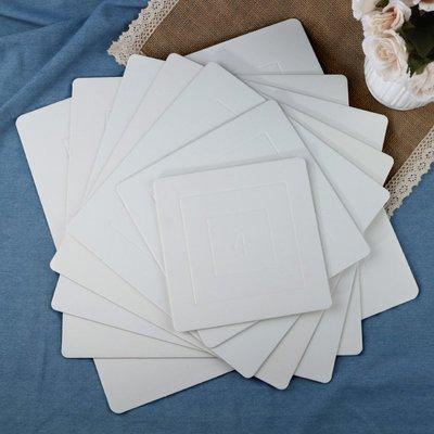 阿里家 億人熱銷金色白色4寸6寸8寸10寸蛋糕底托墊淋膜紙防油內托紙托/訂單滿200元出貨