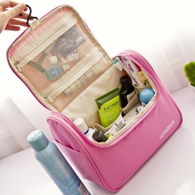 旅行 出差必備大容量洗漱包防新品新品水便攜韓國簡約多功能新化妝新包小號旅行化妝品收納包D02B2