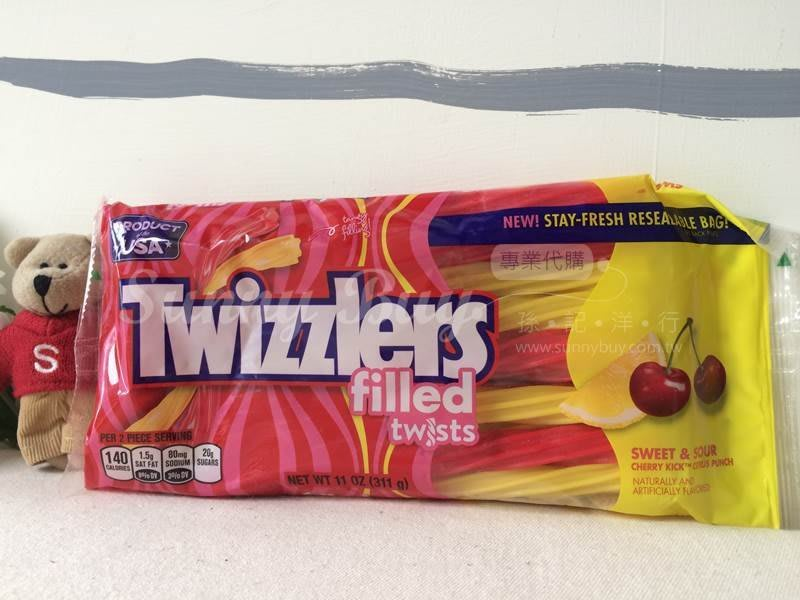【Sunny Buy】◎預購◎ Twizzlers 櫻桃橘子綜合口味 11oz 311g