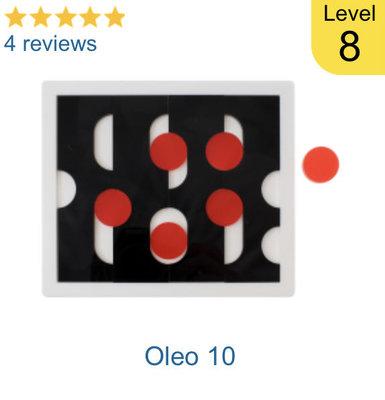 Oleo 10 拼圖,Jigsaw puzzle 29同設計人,現貨。(宅配費用70元為7-11店到店費用)