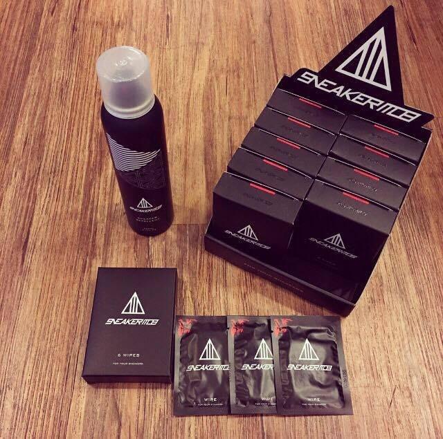 ☆AirRoom☆【現貨】Sneaker Mob Repellent 防水噴霧 + MOB 濕紙巾 600 免運