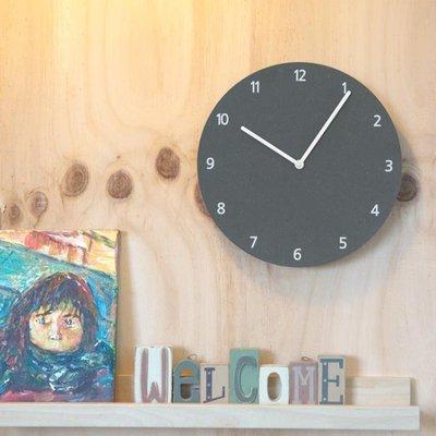 現貨/鐘錶掛鐘客廳創意現代簡約圓形數字家用臥室超靜音小掛錶   igo/海淘吧F56LO 促銷價