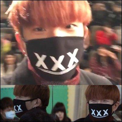 韓國블랙포인트마스크口罩 正韓進口ASMAMA官方正品 DOB Jin Park 朴鎮 同款XXX口罩