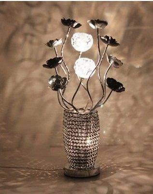 【優上精品】歐式台燈 臥室 床頭燈 田園婚慶燈 現代台燈 居家台燈(Z-P3160)
