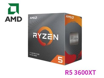 「ㄚ秒市集」AMD R5 3600XT 6核 3.8GUp 4.5G 35M/95W/PCIe4.0 CPU