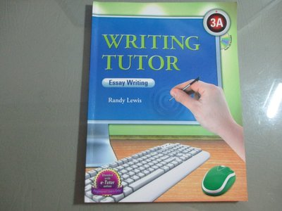 Writing Tutor 3A, Essay Writing (Intermediate Level) 2011附光碟