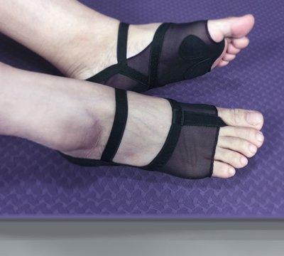 愛運動~瑜伽襪  專業防滑軟底瑜伽襪 跳舞普拉提防滑軟底鞋襪  R2154