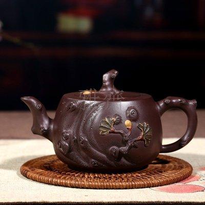 【雅齋】壺 純手工泥松樁大品宜興日用百貨茶具茶壺A1312C