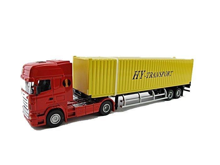 【阿LIN】0231AA 5012-23 1:50 集裝箱卡車 1:50Scale HY TRUCK 貨車 工程車