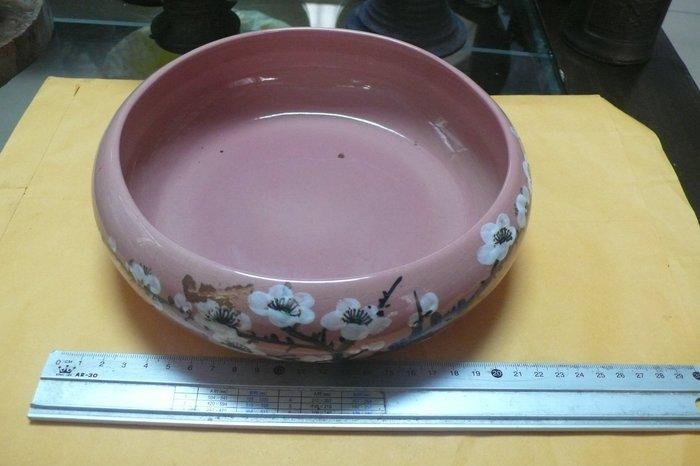 紫色小館88-----早期手繪花盆
