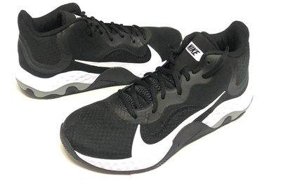 超優惠價2100》☆91☆E NIKE  經典配色 輕量多功能籃球鞋 男款 黑色~8.5~13號 先提問 台北市