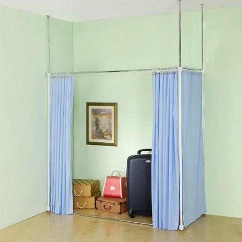 【中華批發網DIY家具】S-18-05-L型/一字型伸縮防塵屏風(AL45*105/AH45*105 )※共有2種組法※
