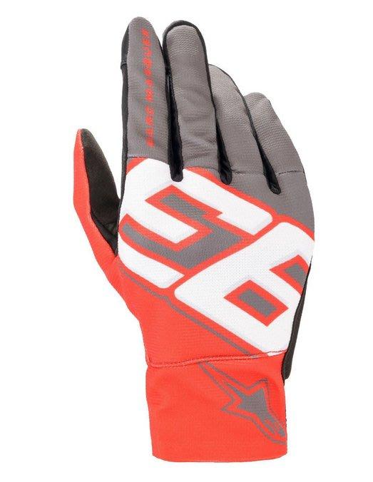 台中皇欣!!正義大利名牌 ALPINESTARS 出品夏季透氣塑鋼保護短手套 MM93 Aragon Glove !!