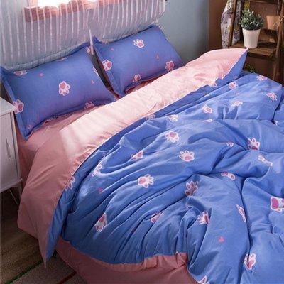 韓國床上用品四件套學生宿舍單人被子DSHY   全館免運
