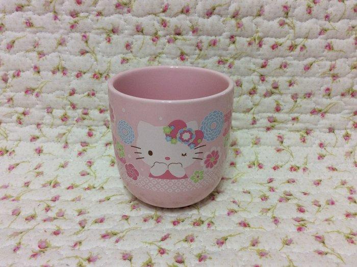 Sanrio hello kitty 日式和風茶杯《2015年商品》收藏特價出清