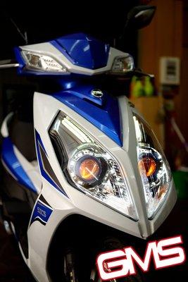 GAMMAS-HID台中廠-NEW FIGHTER-NFT 6代 GMS 六代 遠近魚眼-LED光圈天使眼