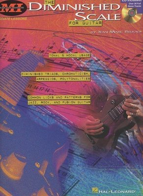 [ 反拍樂器 ] MI系列The Diminished Scale For Guitar吉他教材 (免運費)