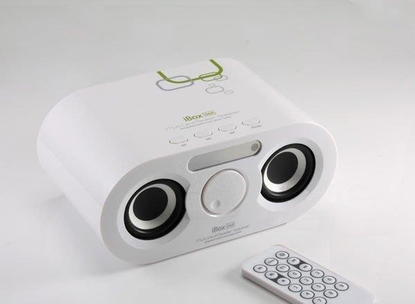 全新 iBOX 德國紅點工業設計獎 MP3外接播放器 遙控 可充電 收音機 低音佳 M65