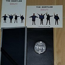 The Beatles Silver Coin Series Help 披頭四 救命 紀念銀幣, Serial No.7306/10000