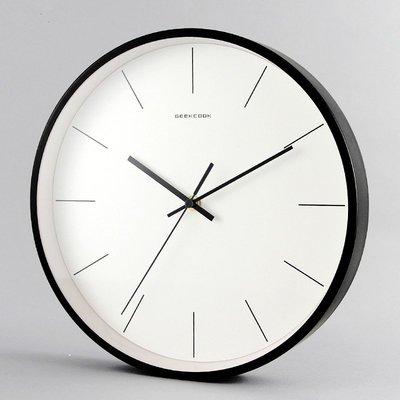 〖洋碼頭〗ins北歐現代簡約掛鐘靜音客廳掛牆鐘錶創意家用時尚掛表個性時鐘 xtm137