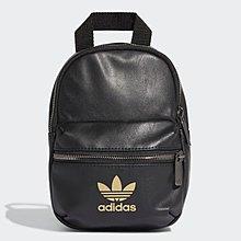 ADIDAS ORIGINALS MINI 黑色 黑金 背包 書包 小背包 後背包 FL9629 請先詢問庫存
