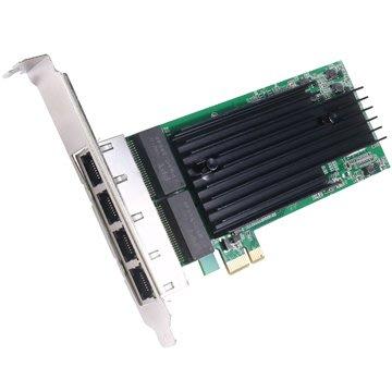伽利略 PCI-E Giga Lan 4埠 網路卡 (PEMSP02)