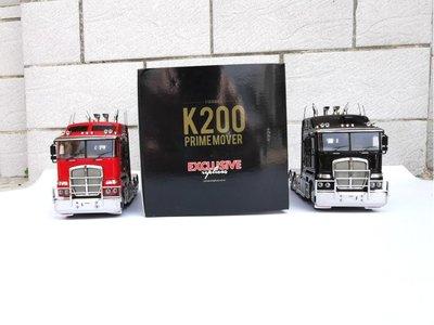 汽車模型玩具EXCLUSIVE 1:32 肯沃斯Kenworth K200 Prime mover拖頭合金車模型