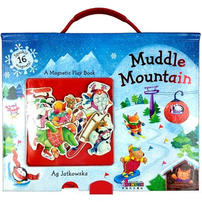 [邦森外文書] 全新現貨 Muddle Mountain 耶誕節主題 手提磁鐵書