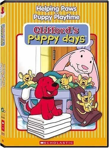 *【幼兒英語 DVD 】小pen 多媒體*大紅狗~~Clifford's  Puppy Days