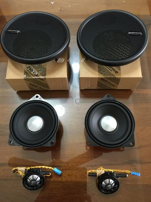 【B&M原廠精品】MINI cooper R60 COUNTRYMAN HK 後座 中,高音喇叭組 現貨
