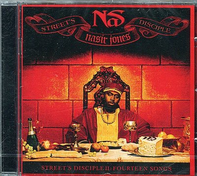 【嘟嘟音樂坊】納斯 Nas - 街頭信徒第二章:14行詩 Street's Disciple II: 14 Songs (全新未拆封)